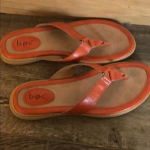 Orange b.o.c Born Sandals Size 10